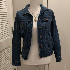 Madewell denim jacket size Small